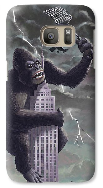 King Kong Plane Swatter Galaxy S7 Case