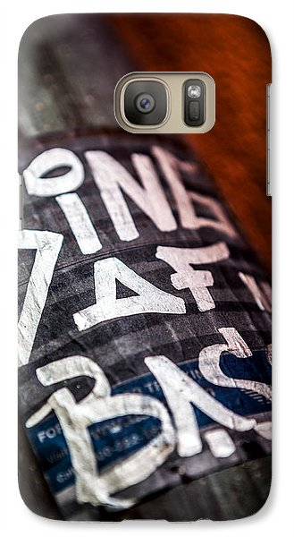 Galaxy Case featuring the photograph King Of Bass by Sennie Pierson