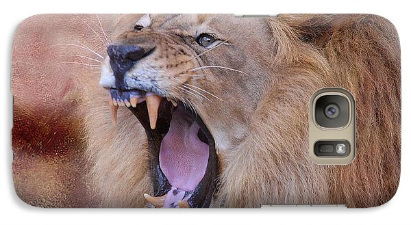 Galaxy Case featuring the photograph King Of Beasts by Dyle   Warren