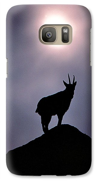 Galaxy Case featuring the photograph King Of The Hill by Christopher McKenzie