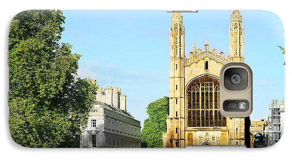 Galaxy Case featuring the photograph King's College Chapel by Eden Baed