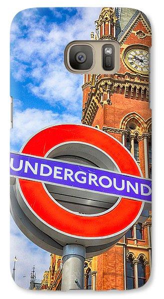London Tube Galaxy S7 Case - Kings Cross Underground by Stephen Stookey