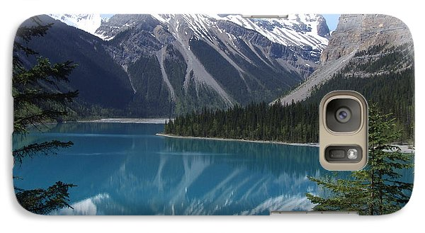 Galaxy Case featuring the photograph Kinney Lake - Canada by Phil Banks