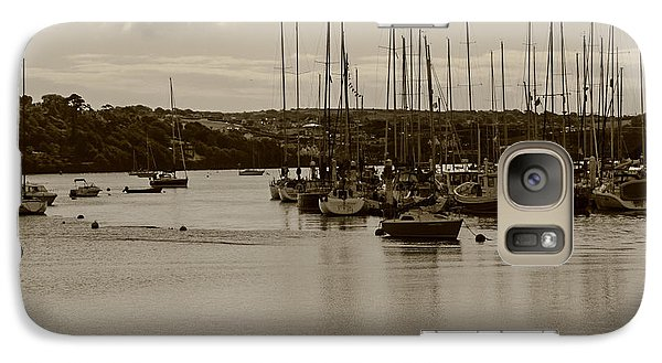 Galaxy Case featuring the photograph Kinsale Harbor At Dusk by Winifred Butler