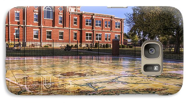 Kiowa County Courthouse With Mural - Hobart - Oklahoma Galaxy S7 Case