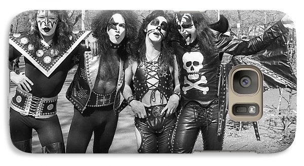 Kiss - Group Early Years Galaxy S7 Case by Epic Rights