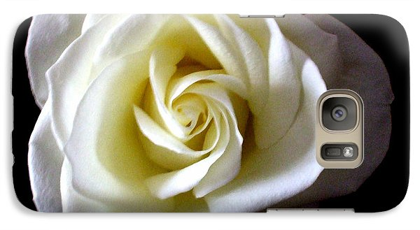 Galaxy Case featuring the photograph Kiss Of A Rose by Shana Rowe Jackson
