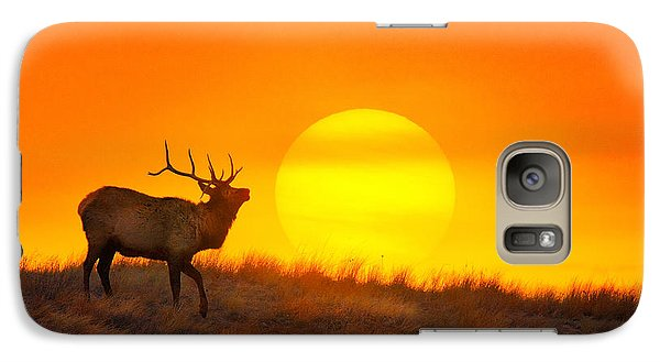 Galaxy Case featuring the photograph Kiss The Sun by Kadek Susanto