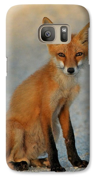 Galaxy Case featuring the photograph Kit by Olivia Hardwicke