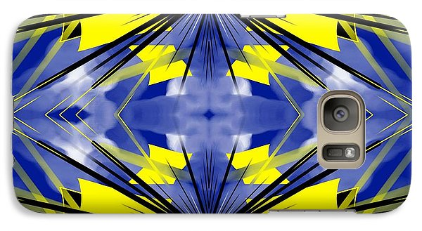 Galaxy Case featuring the digital art Kite by Brian Johnson