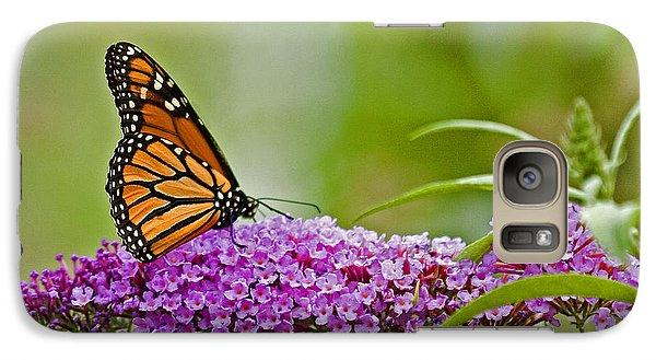 Galaxy Case featuring the photograph Kittatiny Monarch by Robert Pilkington