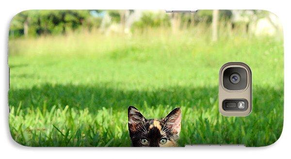 Galaxy Case featuring the photograph Kitten by Carsten Reisinger
