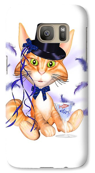 Luxmaris Galaxy S7 Case - Kitticat Party Design by Renate Janssen