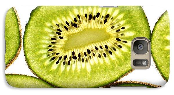Kiwi Fruit IIi Galaxy S7 Case by Paul Ge