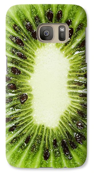 Kiwi Slice Galaxy S7 Case by Chris Knorr