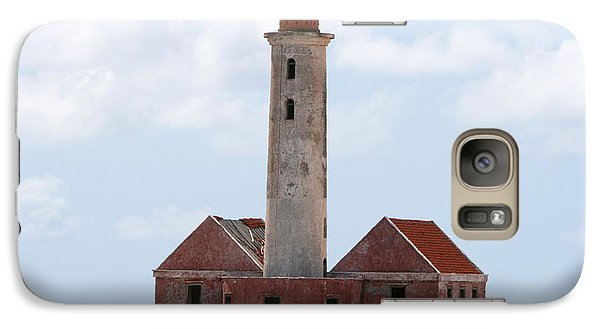 Galaxy Case featuring the photograph Klein Curacao Lighthouse by David Millenheft