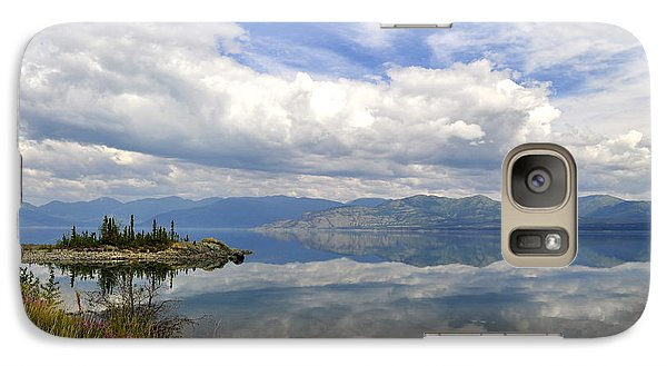 Galaxy Case featuring the photograph Kluane Reflections by Cathy Mahnke
