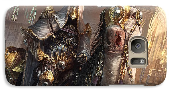Wizard Galaxy S7 Case - Knight Of Obligation by Ryan Barger