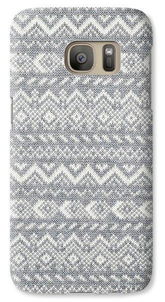 Knit Pattern Abstract Galaxy Case by Elena Elisseeva