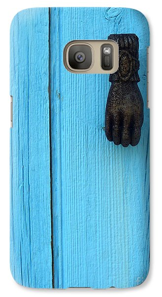 Galaxy Case featuring the photograph Knock Knock by Robert Riordan