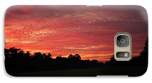 Galaxy Case featuring the photograph Knock Knocking On Heavens Door by Polly Peacock