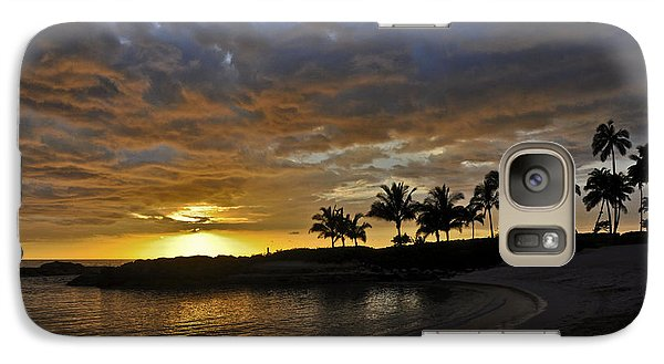 Galaxy Case featuring the photograph Golden Paradise by Gina Savage