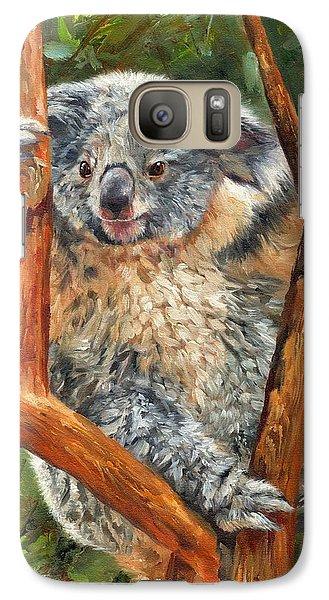 Koala Galaxy S7 Case - Koala by David Stribbling