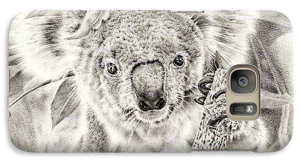 Koala Garage Girl Galaxy S7 Case by Remrov