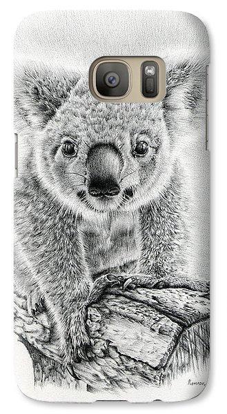Koala Galaxy S7 Case - Koala Oxley Twinkles by Remrov