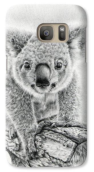 Koala Oxley Twinkles Galaxy S7 Case by Remrov