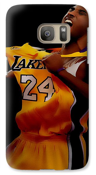 Kobe Bryant Sweet Victory Galaxy Case by Brian Reaves