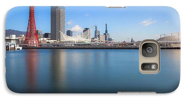Galaxy Case featuring the photograph Kobe Port Island Tower by Hayato Matsumoto