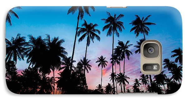 Galaxy Case featuring the photograph Koh Samui Sunrise by Mike Lee