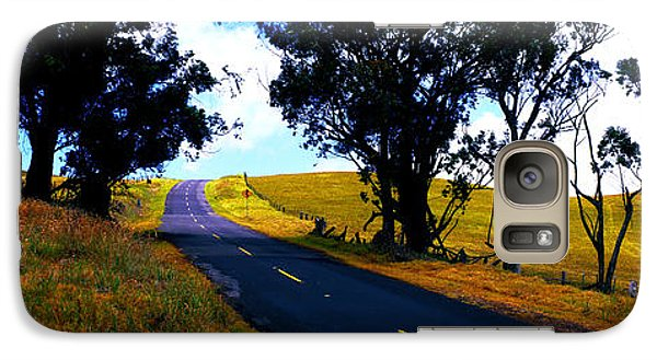 Galaxy Case featuring the photograph Kohala Mountain Road  Big Island Hawaii  by Tom Jelen