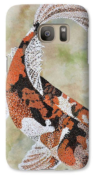 Galaxy Case featuring the painting Koi by Suzette Kallen