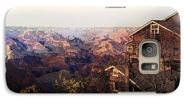 Galaxy Case featuring the digital art Kolb Brothers Studio - Grand Canyon National Park by David Blank