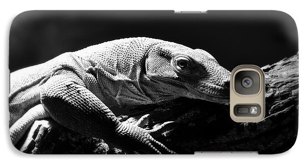 Galaxy Case featuring the photograph Komodo Dragon by Lisa L Silva