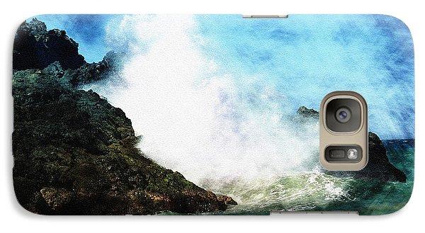 Galaxy Case featuring the photograph Kona Sea by Athala Carole Bruckner