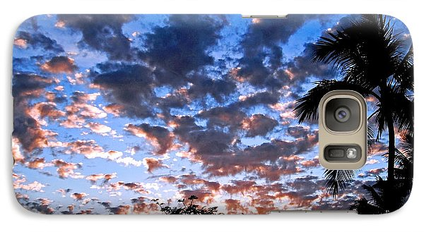 Galaxy Case featuring the photograph Kona Sunset by David Lawson