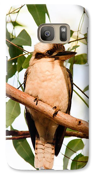 Galaxy Case featuring the photograph Kookaburra 2 by Carole Hinding