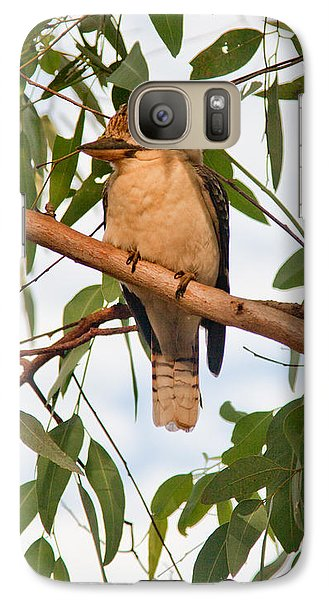 Galaxy Case featuring the photograph Kookaburra by Carole Hinding