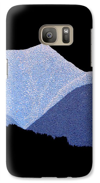 Galaxy Case featuring the painting Kootenay Mountains by Janice Dunbar