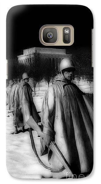 Korean Memorial Galaxy Case by Skip Willits