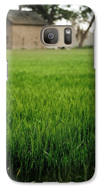 Galaxy Case featuring the photograph Ks Farm by Brian Duram
