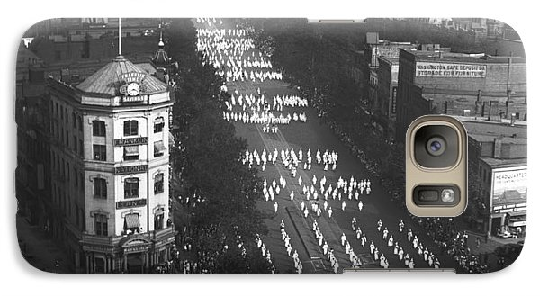 Ku Klux Klan Parade Galaxy Case by Underwood Archives