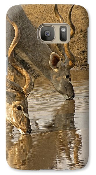 Galaxy Case featuring the photograph Kudus by Dennis Cox WorldViews