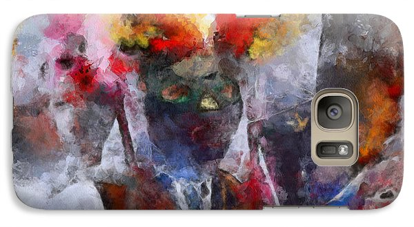 Galaxy Case featuring the painting Kuker by Georgi Dimitrov