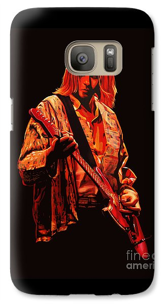 Kurt Cobain Painting Galaxy S7 Case by Paul Meijering