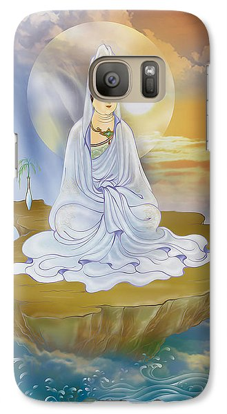 Galaxy Case featuring the photograph Kwan Yin - Goddess Of Compassion by Lanjee Chee