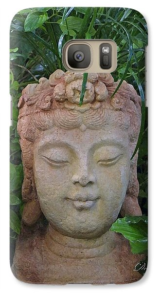 Galaxy Case featuring the photograph Kwan Yin Goddess Of Mercy by Dodie Ulery